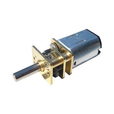 S888 Mini Getriebemotor 18 bis 54 U/min 12V DC (4-20V) für Modellbau Modellbahn