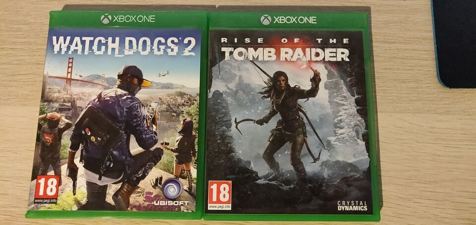 Forskellige Xbox One spil, Xbox One