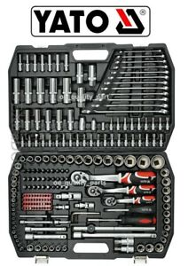 c09b8645500 Yato Ratchet Socket Set 216 pcs 1 2 1 4 3 8 Hand Tools Toolbox ...