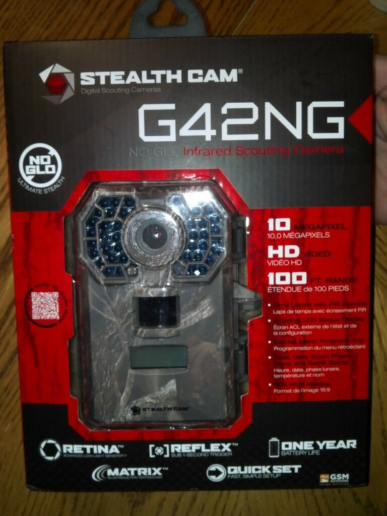 Stealth Cam Digital Scouting Camera G42NG NO GLO Infrared Scouting Camera