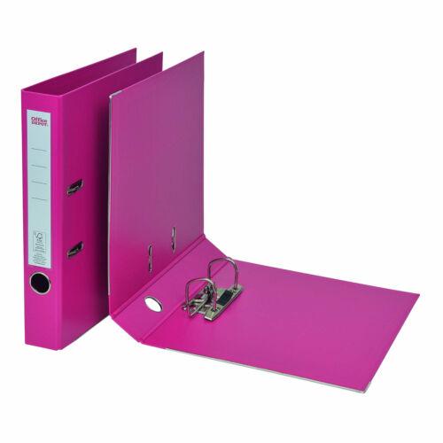 Office Depot Ordner 50 mm Polypropylen 2 Ringe DIN A4 Pink