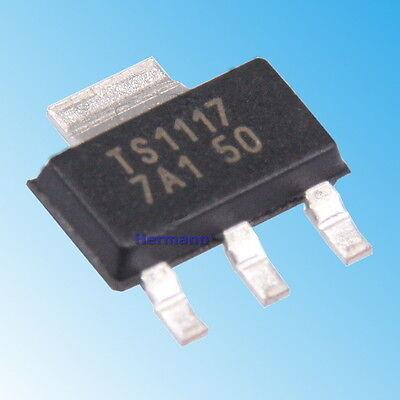 AMS1117 5V 1A Spannungsregler SOT223 (1 oder 5 Stück) (~LD1117 LM1117 TS1117)