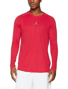 9036450bb1a50e Details about Nike Jordan All Season Fitted Long-Sleeve Men s Training Shirt  642406-687