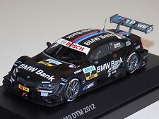 1/43 Minichamps BMW M3 DTM car #7 2012 BMW Bank Bruce Spengler Dealer Edition