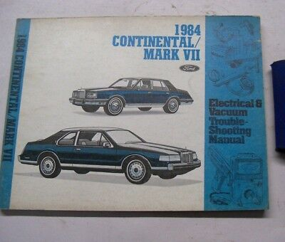 1984 FORD LINCOLN CONTINENTAL MARK VII ELECTRICAL VACUUM ...