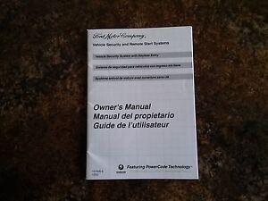 2011 ford taurus manual