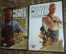Holmes on Homes Season 2 + Holmes on Homes Season 3, NEW and SEALED, VERY RARE