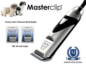 Shih Tzu / Poo Ex Kit de toilettage pour tondeuse à chien avec lames Masterclip 5060207016940