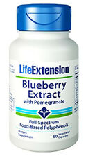 Blueberry Extract with Pomegranate - Life Extension - 60 Veggie Capsules
