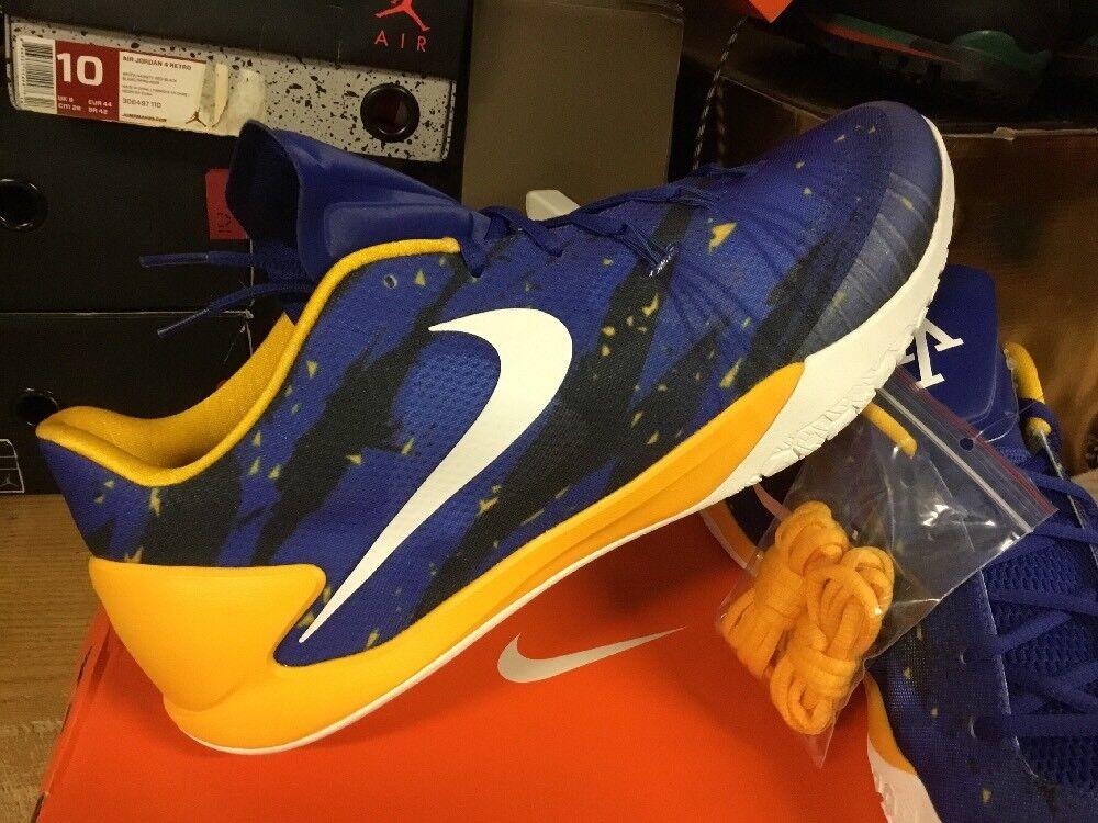 Andre Iguodala Game Issued Promo Sample shoes Sz 16.5 Warriors PE Nike Hyperchase