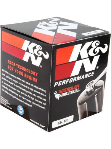 KN-138 K/&N Oil Filter FOR SUZUKI C90 BOULEVARD BOSS 1462