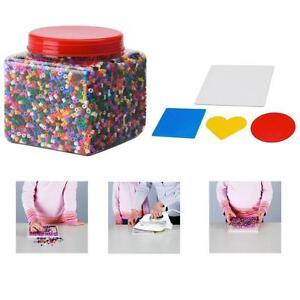 Confezione di perline colorate pyssla ikea colori for Perline legno ikea