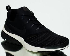 66a86b49b2b9 Nike Presto Fly SE Men Black Black Dark Grey Sail Lifestyle Sneakers ...