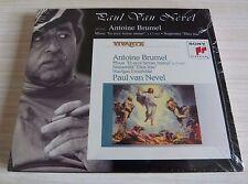 CD PAUL VAN NEVEL ANTOINE BRUMEL MISSA ET ECCE TERRAE MOTUS 14 TITRES 2002 NEUF