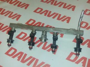 CHEVROLET-LACETTI-MK1-2002-2008-1-8-PETROL-89kw-FUEL-INJECTION-RAIL-amp-INJECTORS