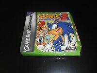Sonic Advance 2 Ii Brand Factory Sealed Game Boy Advance Gba
