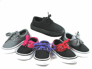 New-LaceUp-Low-Top-Toddler-Baby-Boys-or-Girls-Shoes-Sz-4-9