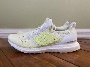 Adidas UltraBoost Clima Solar Yellow AQ0481 Men's Size 11 | eBay