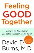 """""""VERY GOOD COND""""  FEELING GOOD TOGETHER by DAVID D. BURNS (2010)"""