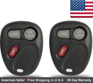 2x-New-Replacement-Keyless-Entry-Remote-Control-Key-Fob-For-Chevy-Cadillac-GMC