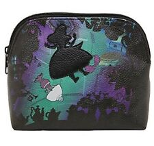 Disney Alice In Wonderland Falling Silhouette Makeup Cosmetic Bag New With Tags!