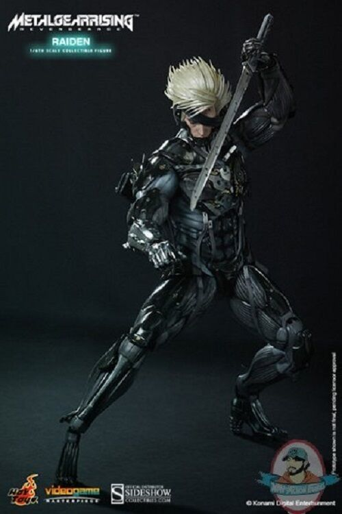 1 6 Scale Metal Gear Rising Revengeance Raiden Figure by Hot Toys