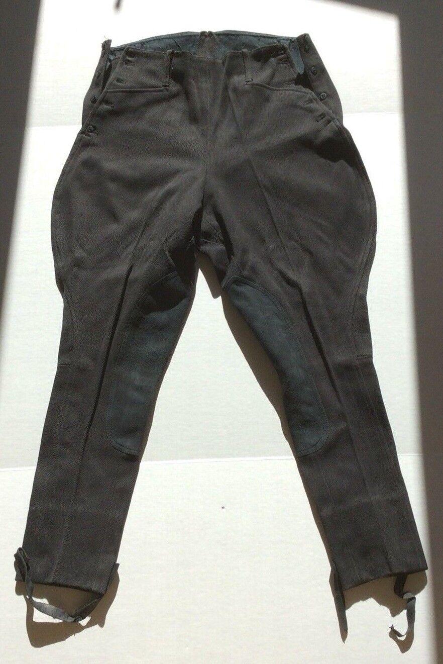 De Colección Equitación Pantalones Jodhpur Pantalones De Montar Equitación Negro