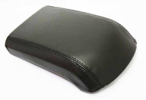 Synthetic Leather Black Center Console Lid Armrest Cover Fits 13-16 Ford Escape