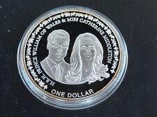 Silber Niue 1 Dollar 2011 , Prince William und Katherine, PP ,925/1000, 28,28g.
