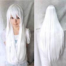New Long Thick Full Head Bang Wigs Kanekalon Women Daily Cosplay Hair Wig UPS 2L