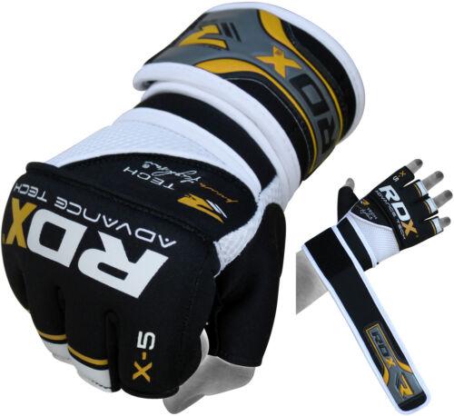 RDX Handschoenen Voor Boksen MMA Muay Thai Geel / Zwart NL S