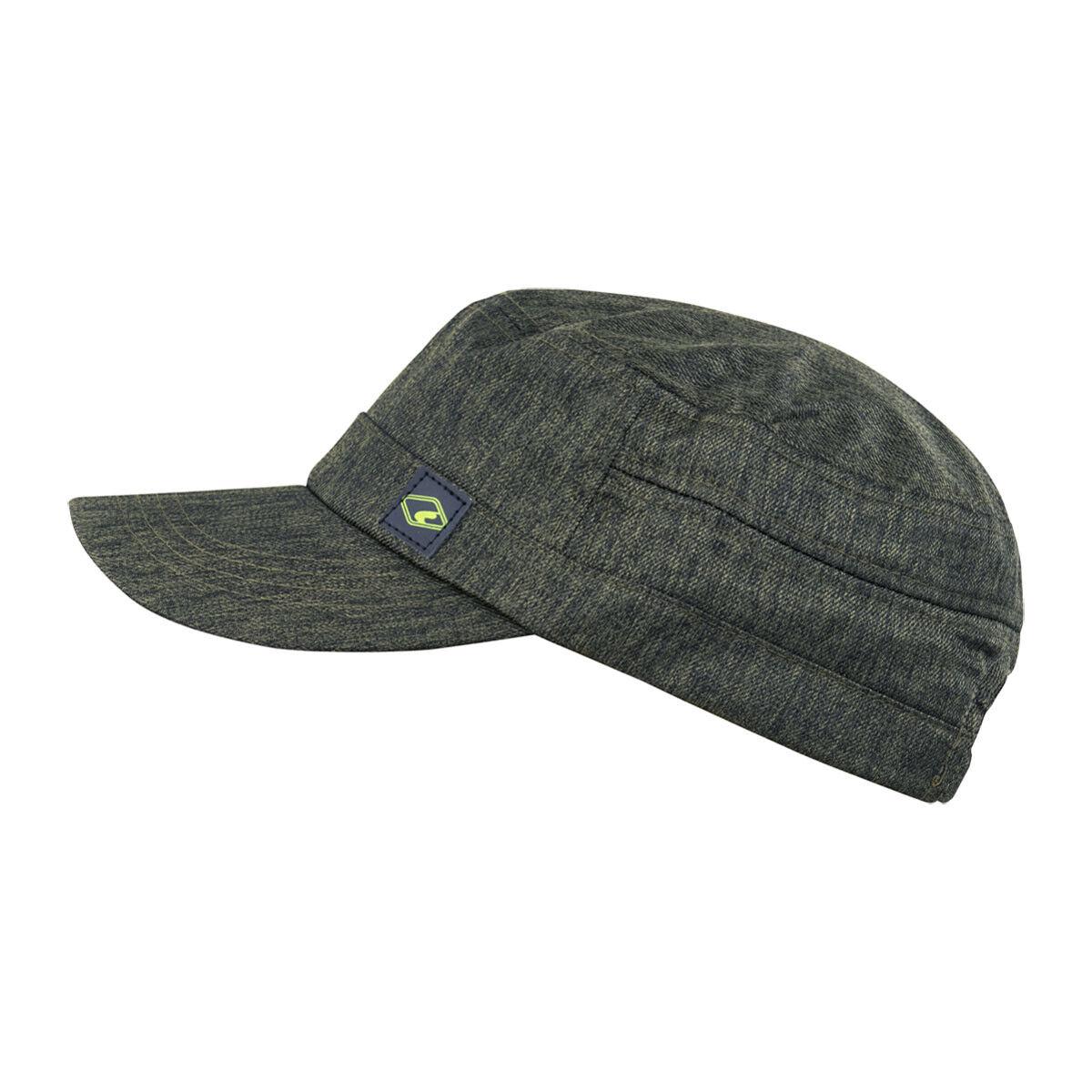 CHILLOUTS San Sebastian Hat in Olive Herren Mütze | Army Cap | Schirmmütze