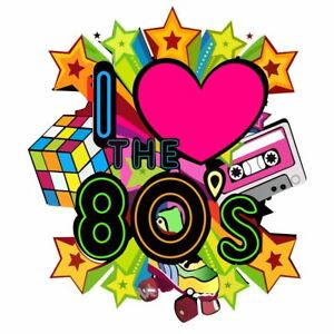 100% Wahr I Love The 80s Vintage Eighty's Iron On Heat T-shirt Pop Star Transfer 6021758® Blusen, Tops & Shirts Damenmode