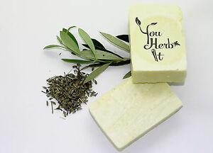 Greek-Extra-virgin-Olive-Oil-Handmade-Soap-Lavender-Scented-3-Bars