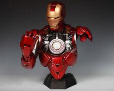 Iron Man 6 Mark6 Mk6 Avengers Tony Stark Bust Statue 1/2 Scale Hot Replica-NEW