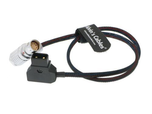 Flexible Luz Arri Alexa Mini Cámara Cable De Alimentación 8 Pin Ángulo Recto a ptap DTaP