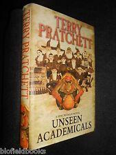 Unseen Academicals (Discworld Novel 37) Terry Pratchett, Hardback, 2009, Fantasy