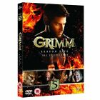 Grimm Season 5 Complete Fifth 5th Series Region 2 DVD BOXSET