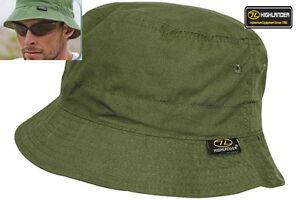 Mens-Sun-Hat-Cap-Bucket-Outdoor-Travel-Festival-Fishing-Cap-Green-S-XL