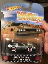 DeLorean back to the Future III 1955 retro 1:64 Hot Wheels fld25 dmc55