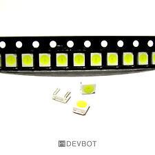 Lot de 10x LED SMD 3528 Blanche. CMS, Arduino, Raspberry Pi, DIY