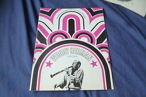 Rare-Vintage-WOODY-HERMAN-jazz-Band-original-1968-UK-concert-tour-program