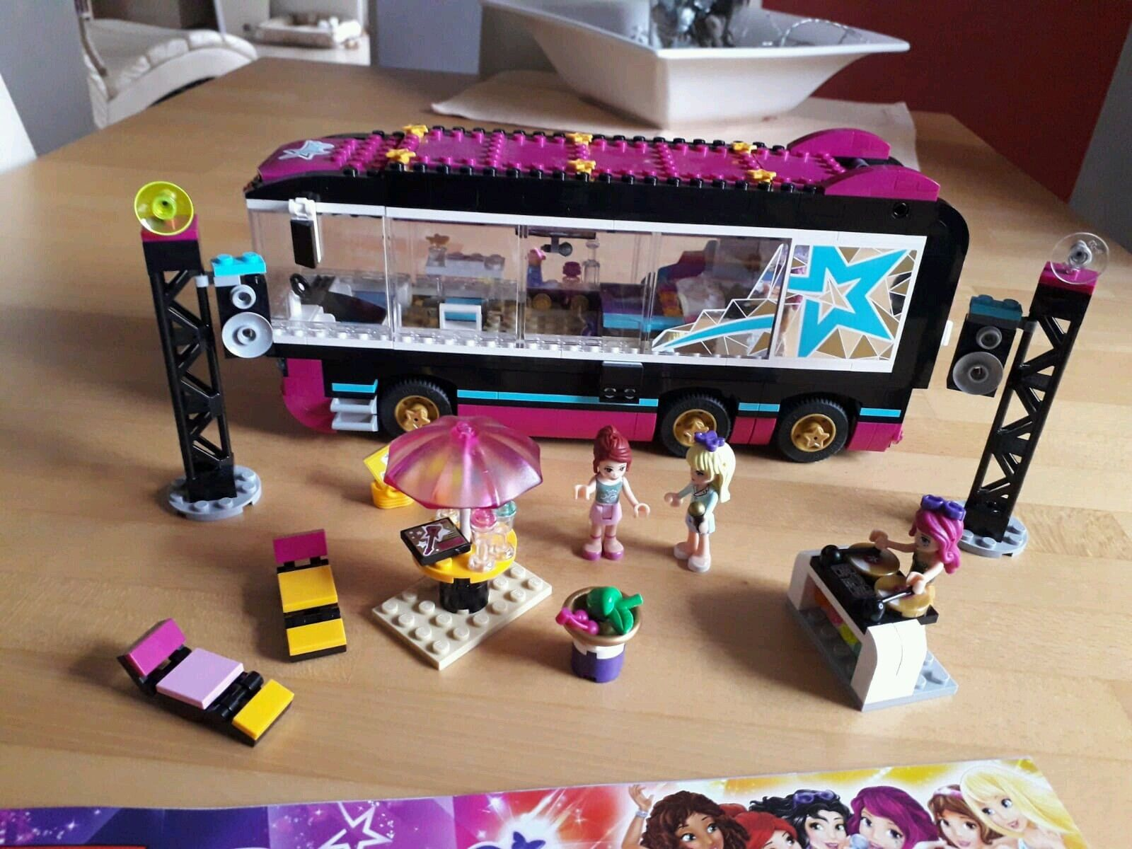 Lego Friends     Pop Star Tourbus d2ca4c