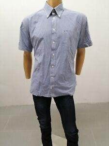 Camicia-TOMMY-HILFIGER-Uomo-Taglia-Size-XXL-Shirt-Man-Chemise-Homme-Cotone-P7349