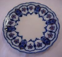 Johnson Bros. England 'eclipse' Flow Blue Plate