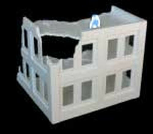 Amera Z215 20 To 28mm Vacuformed Plastic WWII Admin. Block Ruins w/o Door