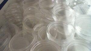Lot of Twelve (12) Original U.S.  Mint  Silver Eagle Capsules
