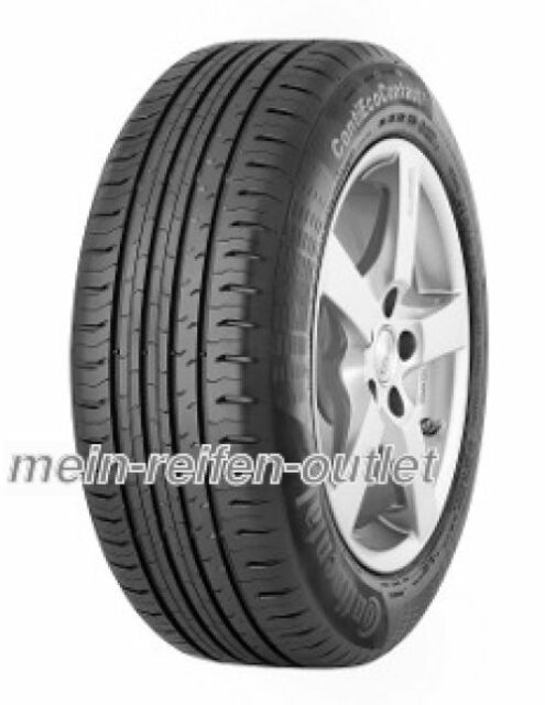 2x Sommerreifen Continental ContiEcoContact 5 225/55 R17 101V XL