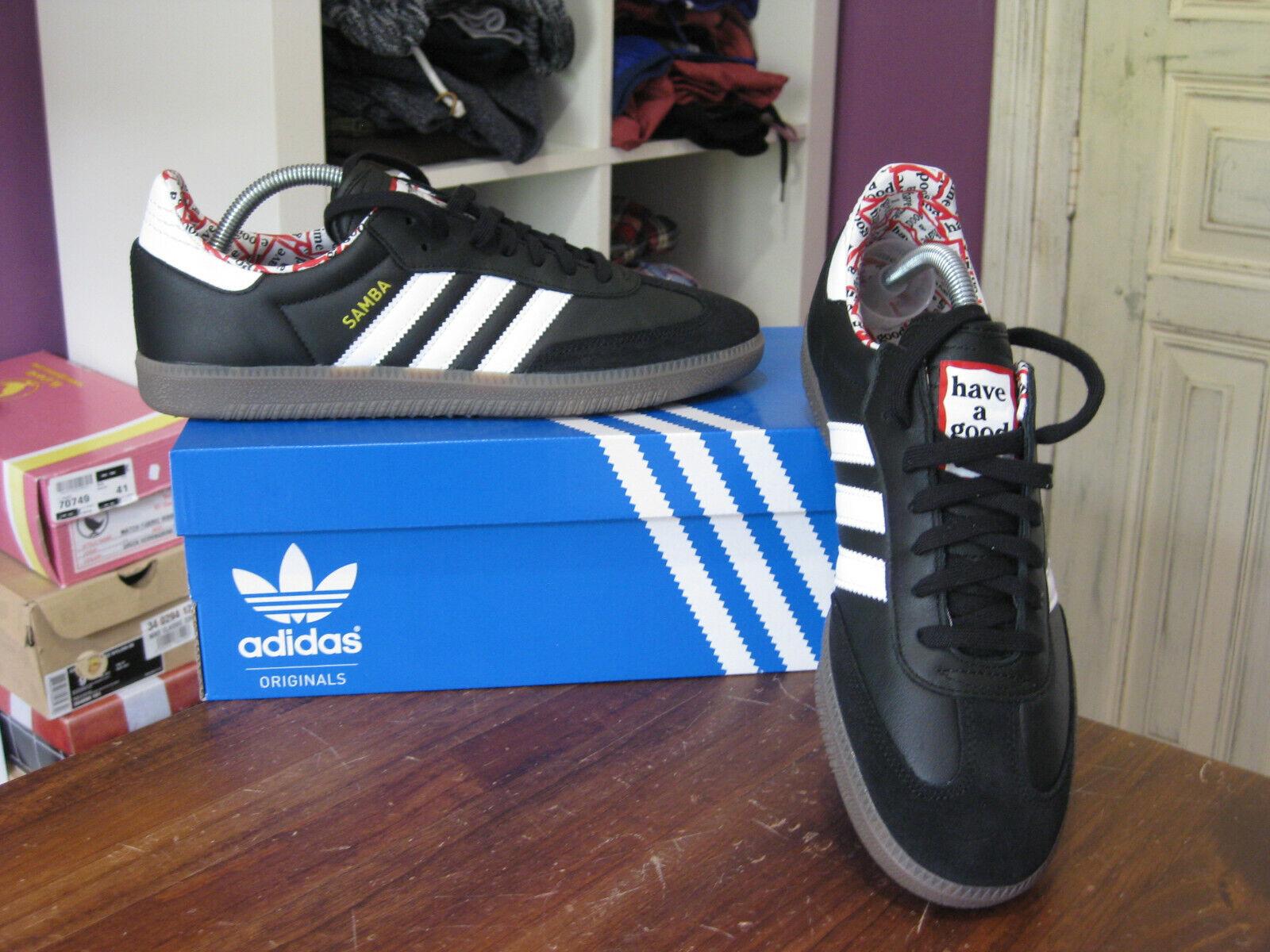 ZAPATILLAS ADIDAS SAMBA HAGT HAVE A GOOD TIME  UK8  LIMITED zapatos