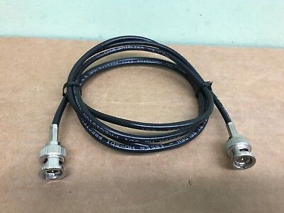 5Pack Belden 1855A HD-SDI Mini RG59 Video Cable 4.5 GHZ BNC Male to BNC Male1ft.